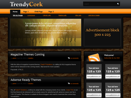 Trendy Cork WordPress Theme by dulcepixels