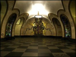 Art of Moscow Metro. 06. by VeIra-girl