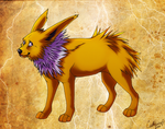 Jolteon II by CatherineSt