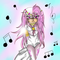 Niena of Music GIFT by RainDiederich