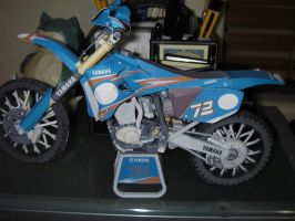Paper craft yz450fm motorcycle by MaximilianK1