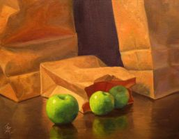 Apples and Bags - Week 10 by iancjw