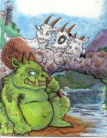 3 Billy Goats Gruff by TRALLT