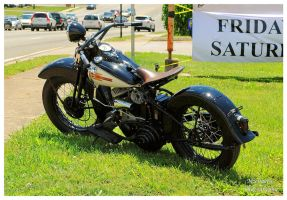 A Cool Old Harley Davidson by TheMan268