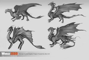 Dragon Concepts by anireal