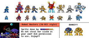 Fan Game 16 Bit Style RMs by MegaRed225