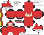 VG7: Knuckles Cubee by TheFlyingDachshund