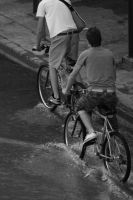 bicyclist by Shoesinger