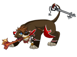 Sora-Lion Valor Form by BosleyBoz