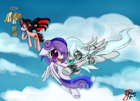Storm and Spooky Boo by BlazeHart96