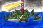 Lighthouse Island by SonicClone