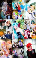 26 Cosplayers into 1 by alfenneo