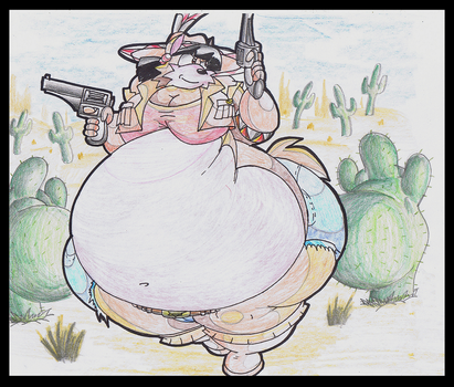 Fat June Coyote. by Virus-20