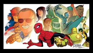 Stan Lee by KidNotorious