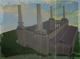 Minecraft Batter Sea Power Station by skysworld