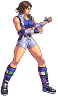 Asuka Kazama Sprite by Marsonite