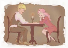 NaruSaku - Lady and the tramp by RinaM