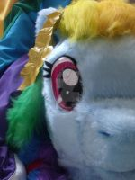 Rainbow Dash cosplay quadsuit preview by MadHamsterCostumes