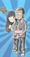 for my friend birthday by pensilkertas