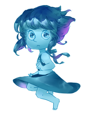 Lapis Cheeb [New Commission Style!!] by kateheichou