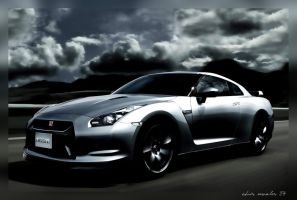 ...The Nissan GTR... by chriz00