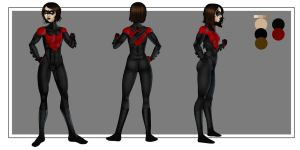 Nightwing Turnaround by LexiKimble