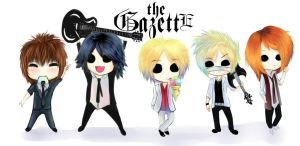 The GazettE by Kompot-san