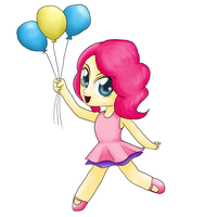MLP: Pinkie Pie Chibi by KittyBelle01