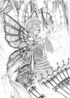 lady butterfly by tite-egna