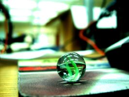 Glass Marbles by Tannekan