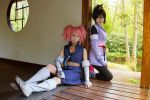 Tales of Symphonia - Presea and Sheena by Rei-Suzuki