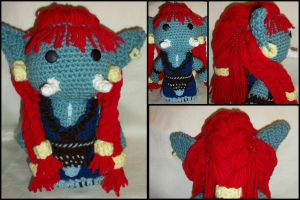 Troll Druid Sackdoll by GamerKirei