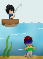 you like my sister? no problem, let's go fishing by America-Alex