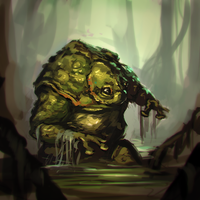 Toadily a swamp by AssasinMonkey