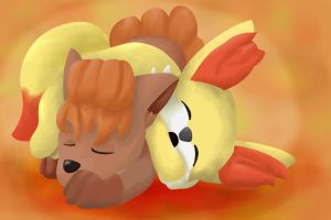 Pokemon Fire Foxes by 2-Nobody-2