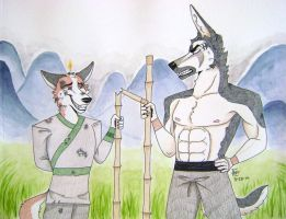 Training by Huskypawz