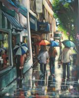 Wet on Whyte by artistwilder