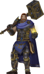 Uther, The Lightbringer by Daerone