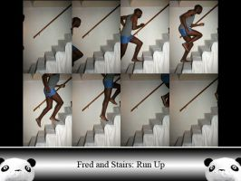 Fred and Stairs RU by Ahrum-Stock