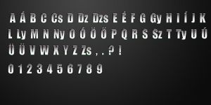 Call of Duty 4 font by dani0001