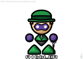 The Riddler by alexcseymour