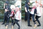 K Project Cosplay : Shiro Kuroh Neko Anime by Fuulala