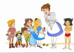 Mary and the Kids by FrenchHumorist