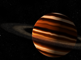 Gas Giant- Another Space Scene by commandersozo