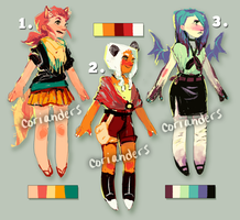 cutie adopts! [CLOSED] by corianders