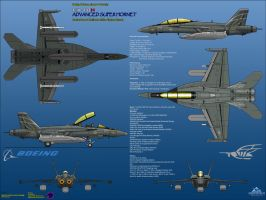 Boeing FA-18H Advanced Super Hornet - EWP Assault by haryopanji