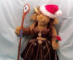 Custom Plush WoW Tauren by CreativeCritters