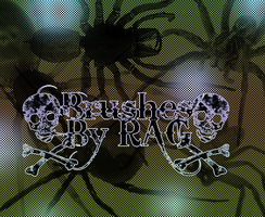 Spider Photoshop Brushes by RiseAboveGraphics