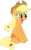 Applejack   The Earth Pony By Blindcavesalamander- by SMG-73
