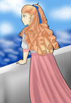 Lilly at Sea by Foxgirl95